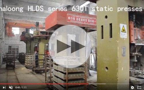 quick speed refractory presses