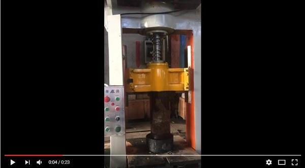 blow testing for 30 ton press machine