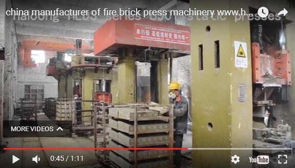 refractory press machine