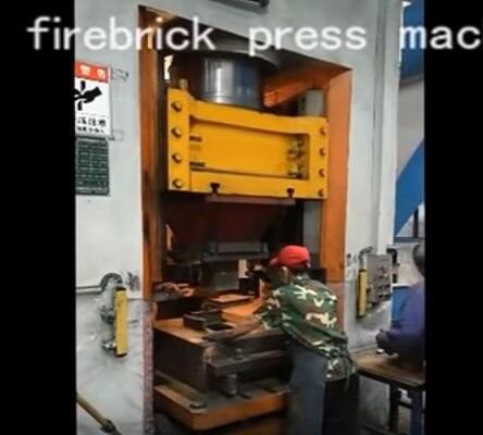 static type brick pressing