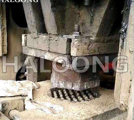 HALOONG CNC screw press for different shaped brick formation