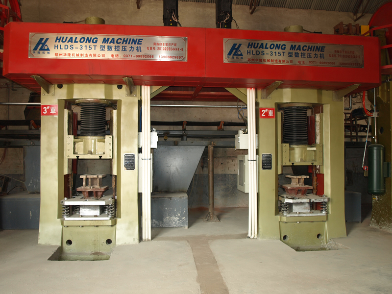 cnc screw press machine