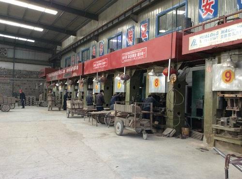 Electric screw brick making press machine