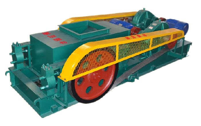industrial double ruller crusher machine