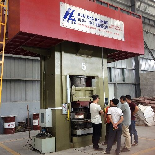 The characteristics of electric screw press machine during operation