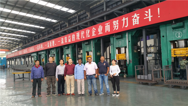 Chinese forging equipment export to the whole world