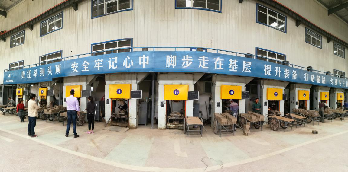 High aluminum brick automatic production line