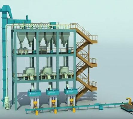 Refractory Brick-Auto Production Line