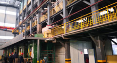 Transformation of firebrick automatic production line